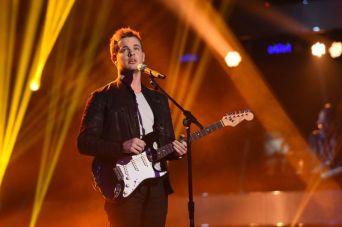 Clark Beckham performs on AMERICAN IDOL XIV