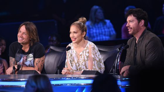American Idol 2015 Judges on Top 9 night
