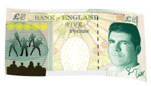 Simon Cowell on new £5 note