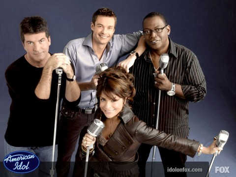 Original American Idol Judges and Ryan Seacrest