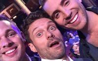 Ryan Seacrest selfie with Clark & Nick at American Idol finale