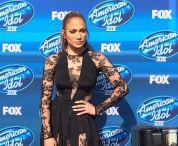 Jennifer Lopez outside finale