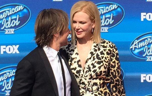 Keith Urban with wife Nicole Kidman