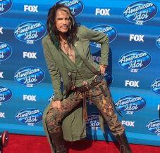 Steven Tyler attends Idol finale