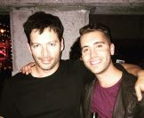 Harry Connick Jr & Nick Fradiani celebrate