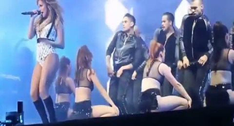 Jennifer Lopez performs in Morocco (YouTube)