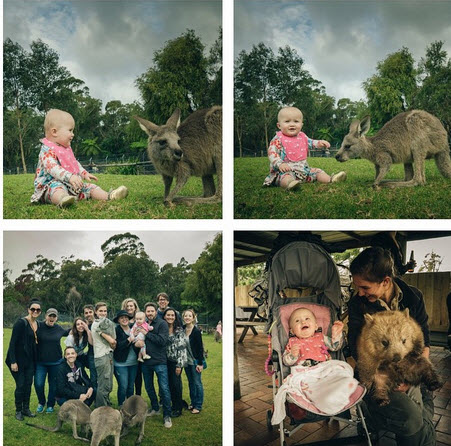 Kelly Clarkson and baby River Rose Australia 2