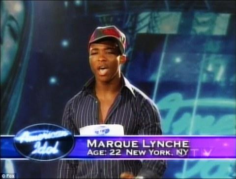 Former American Idol semi-finalist Marque Lynche (FOX)