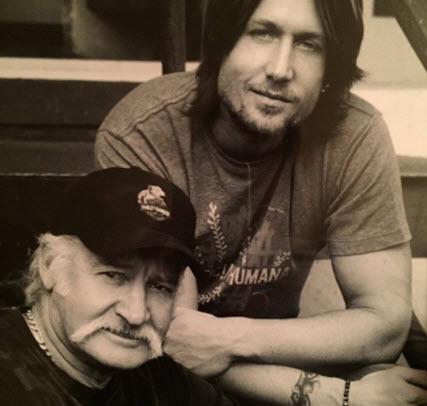 Keith Urban and Father Bob Urban (Facebook)