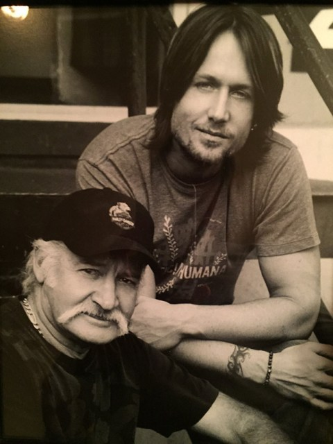 Keith Urban and father Bob Urban (Facebook)