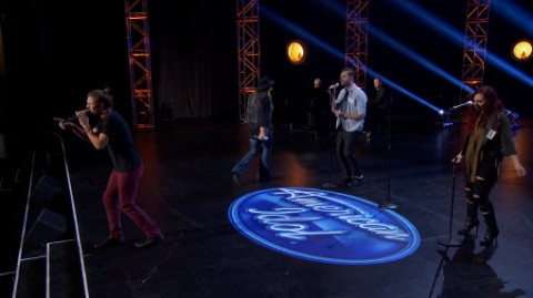American Idol 2016 Group Round - Jordan Saser, Kelise Watts