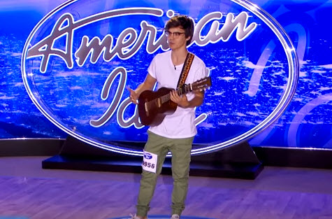 MacKenzie Bourg American Idol Audition (FOX/YouTube)
