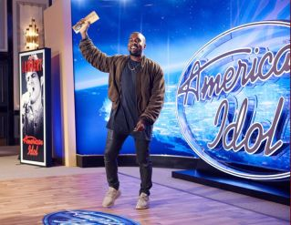 Kanye West surpises the Judges and Ryan on AMERICAN IDOL - 01