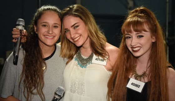 American Idol Hopefuls in Hollywood's Group Round