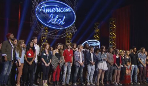 American Idol 2016 Hopefuls in Hollywood