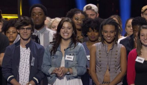 American Idol Hopefuls in Hollywood