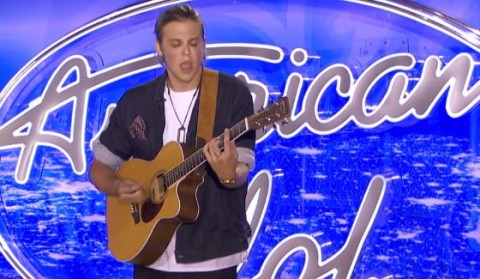 James Dawson VIII auditions on American Idol 2016