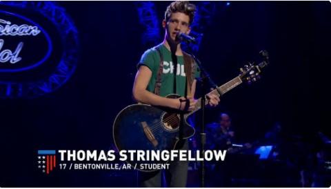 Thomas Stringfellow American Idol 2016 (FOX)