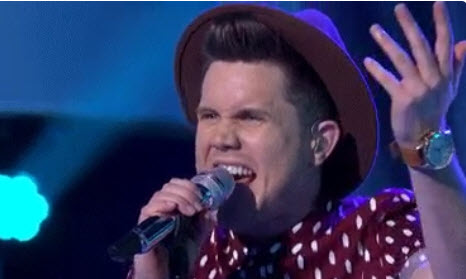 Trent Harmon performs on American Idol 2016 (FOX)