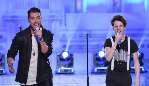 Thomas Stringfellow & Nick Fradiani on American Idol 2016