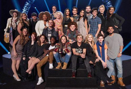 American Idol's Top 24 Season 15 Contestants