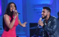 Jordin Sparks sings with Manny Torres on American Idol 2016