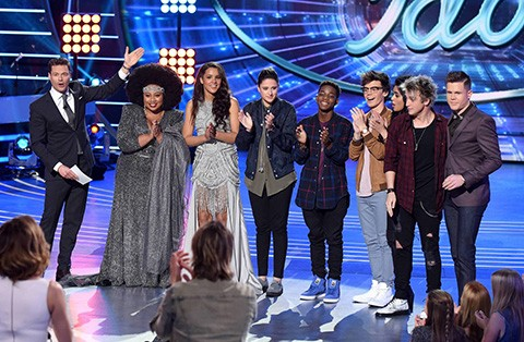 The American Idol 2016 Top 8. Fox Photo