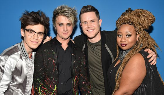 Top 4 contestants on American Idol 2016