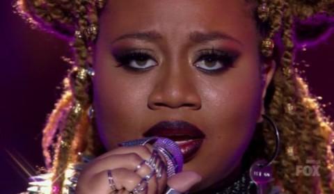 La'Porsha Renae performs on American Idol 2016