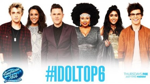 American Idol 2016 Top 6 contestants