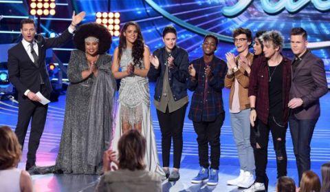 American Idol's Top 8 contestants on Season 15