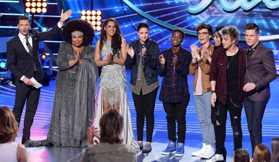 American Idol's Top 8 contestants on Season 15