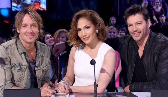 American Idol Judges on Season 15