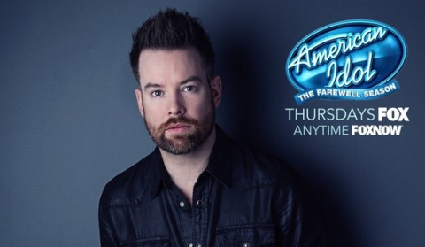 David Cook performs live tonight on American Idol 2016