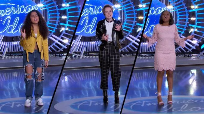 American Idol 2018 Audition Hopefuls on AMAs