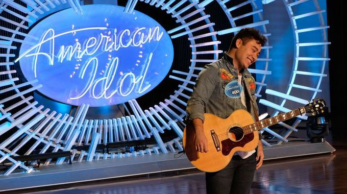 Daniel Ethridge auditions on American Idol