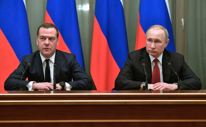 Russian prime minister resigns after Putin seeks to ...