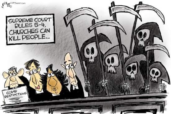 Cartoon: Grim SCOTUS
