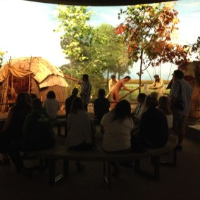 Four Seasons Room at Mille Lacs Indian Museum.