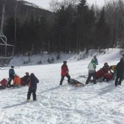 Ski Chair Lift Malfunction Leather Chairs Covered By Medicare What Caused The Sugarloaf Mountain 7 Injured Image Via Greg Hoffmeister On Saturday A In Maine Malfunctioned