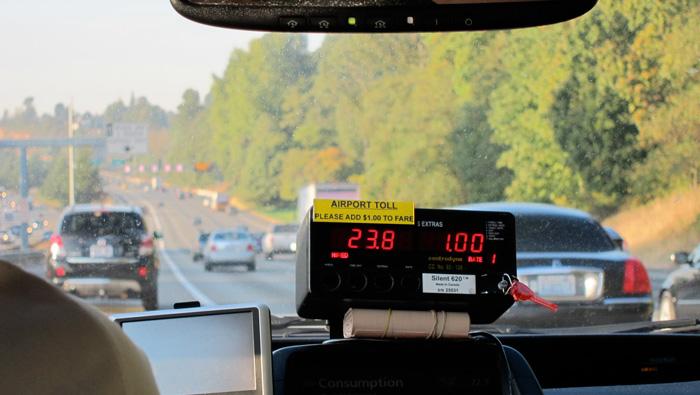 Airport taxi (Credit: Susan Barsy)