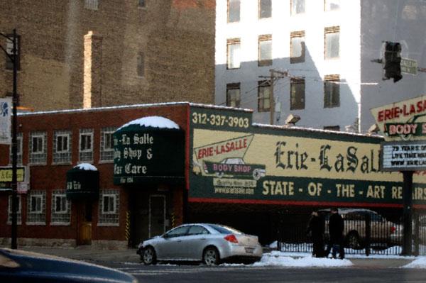 Erie-LaSalle Auto, Chicago, © 2013 Susan Barsy