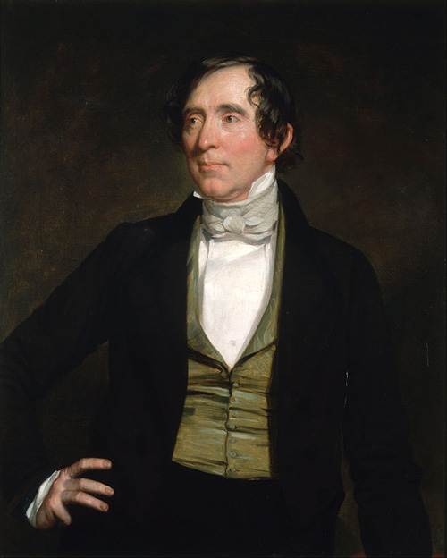 Portrait of William Campbell Preston by G.P.A. Healy.