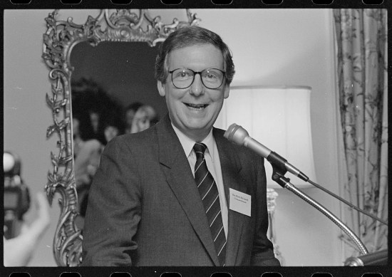Senator Mitch McConnell (Courtesy of the Library of Congress)