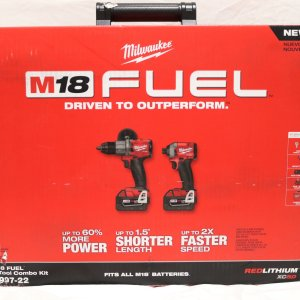 Milwaukee Hammer Drill Impact Driver front