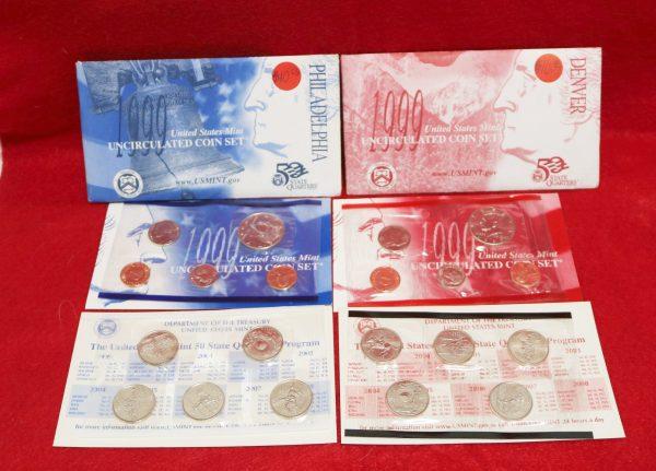 1999 Mint Coin Set all