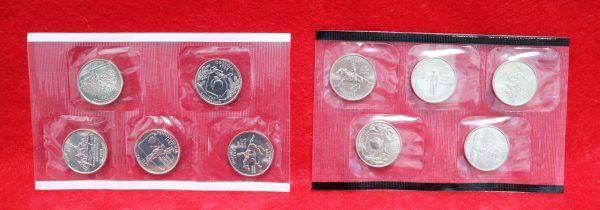 1999 Mint Coin Set quarters