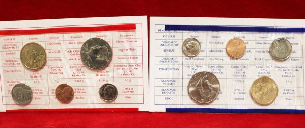 2001 Uncirculated Coin Set 11
