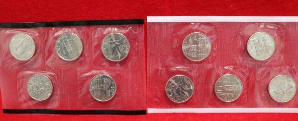 2001 Uncirculated Coin Set quarters