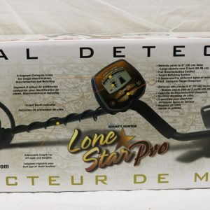Bounty Hunter Metal Detector back
